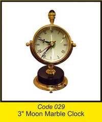OTC 029 3'' Moon Marble Clock