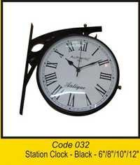 OTC 032 Station Clock -Black - 6''8''10''12''