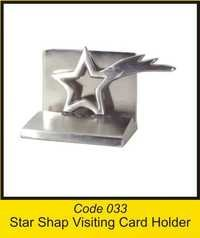 OTC 033 Star Shap Visiting Card Holder