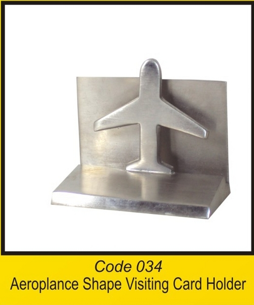OTC 034 Aeroplance Shape Visiting Card Holder