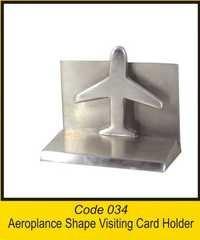 OTC 034 Aeroplance Shape Visiting Card Holder