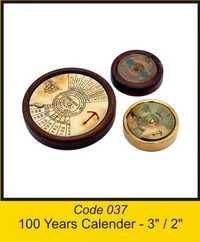 OTC 037 100Years Calender - 3'' 2''