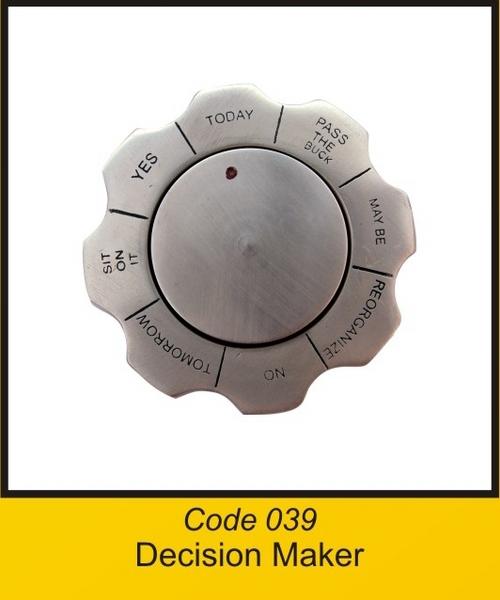 OTC 039 Decision Maker .