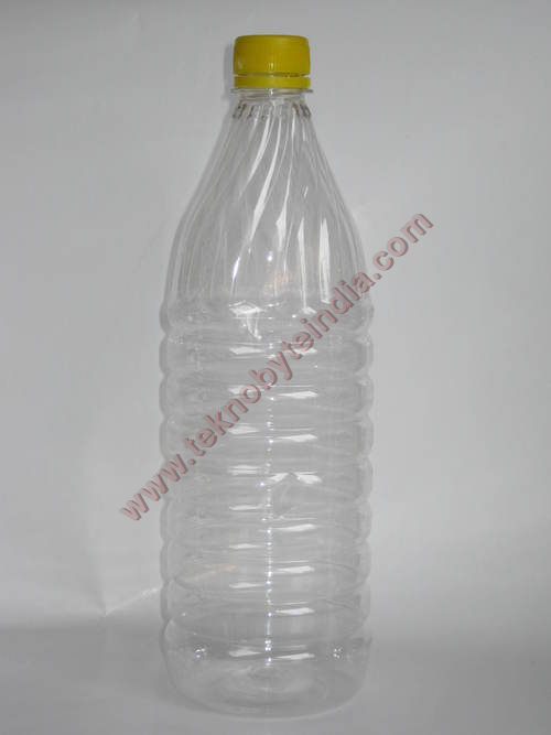 Yellow Cap Pet Bottles