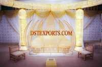 LATEST ASIAN WEDDING CRYSTAL LOVE SEATER