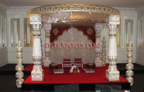Latest Wedding Madhavi Mandap Set