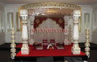 Latest Wedding Madhavi Mandap Set