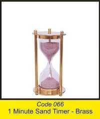 OTC 066 Iminute Sand Timer - brass
