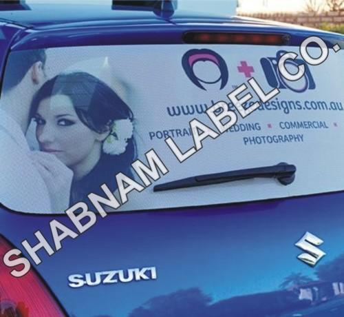 Car Shade Labels