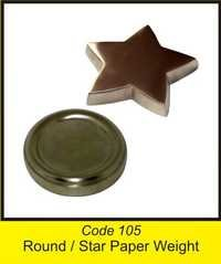 OTC 105 Round & Star Paper Weight .