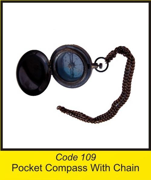 OTC 109 Pocket Compass With Chain