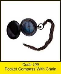 OTC 109 Pocket Compass With Chain