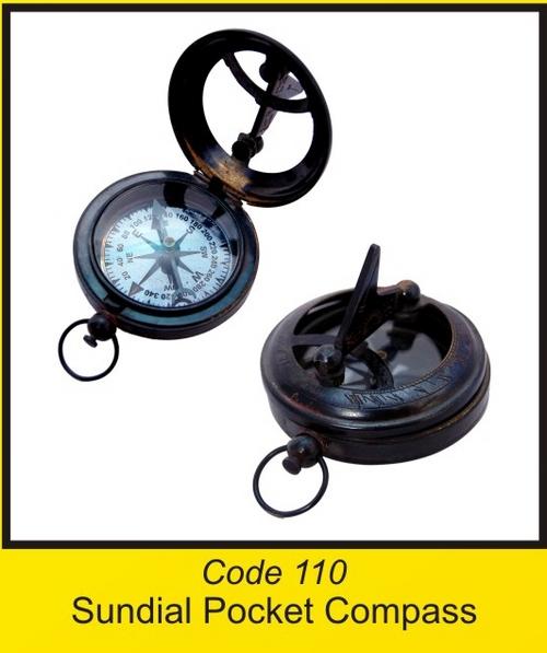 OTC 110 Sundial Pocket Compass