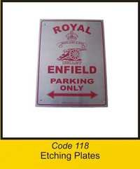 OTC 118 Etching Plates