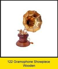 OTC 122 Gramophone Showpiece - Wooden .