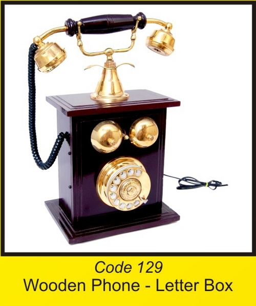 OTC 129 Wooden Phone - Letter Box