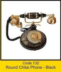 OTC 132 Round Chitai Phone - Black