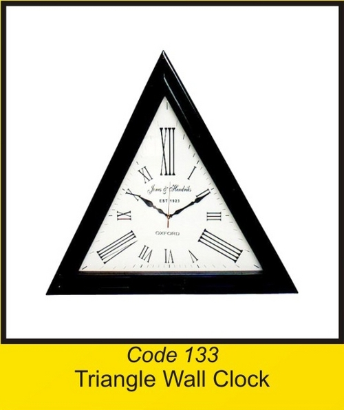 OTC 133 Triangle Wall Clock