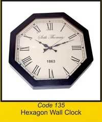 OTC 135 Hexagon Wall Clock