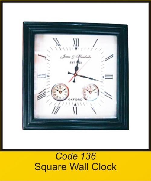 OTC 136 Square Wall Clock