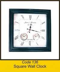 OTC 136 Square Wall Clock