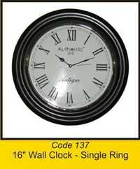 OTC 137 16'' Wall Clock - Single Ring