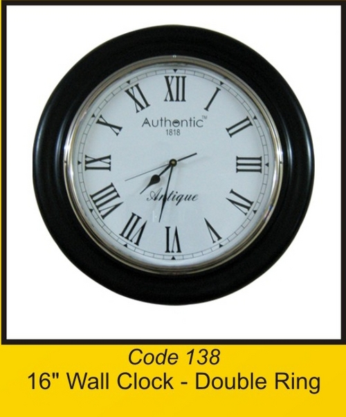 OTC 138 16'' Wall Clock - Double Ring