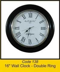 OTC 138 16'' Wall Clock - Double Ring