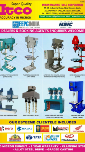ITCO drilling machine catalog