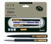 Parker Vector Matte Black Set GT (Roller Ball+ Ball Pen)