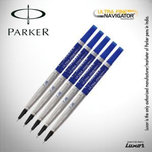 Parker Roller Ball Pen Refill(Set of 5 Pic)