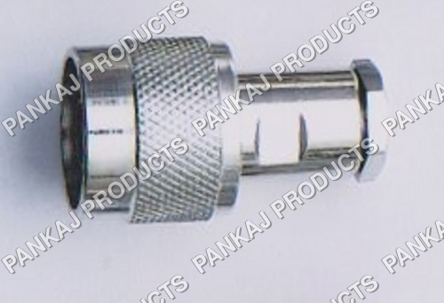 N Male Straight Clamp Type RG 58