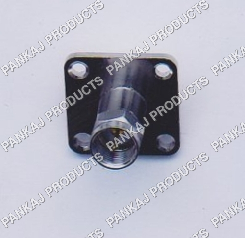 F Male 25mm Square Panel Mounting
