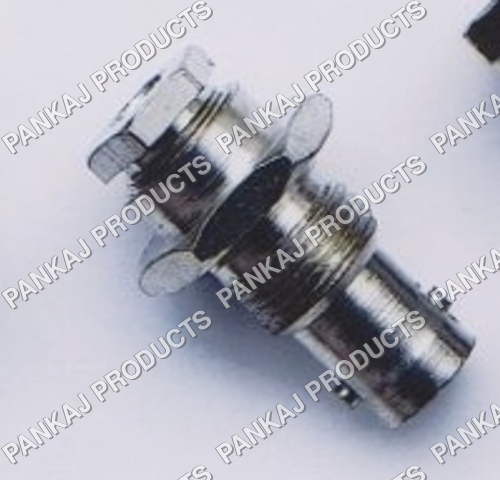 BNC Female Bulk Head Clamp Type