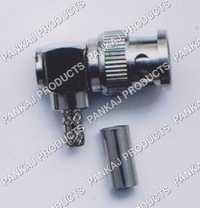 BNC Plug Right Angle Crimp Type RG 58