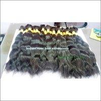 Natural virgin deep wave,single donor bulk  hair