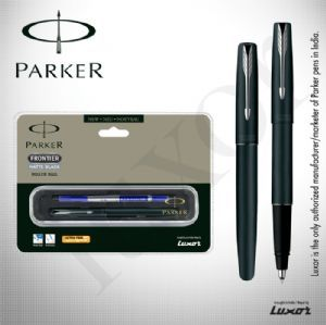 Parker Frontier Matte Black CT RB + Free engraving on pen