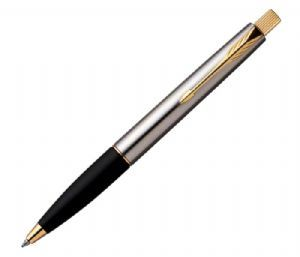Parker Frontier Stainless Steel GT Ball Pen + Free engraving on pen