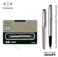 Parker Frontier Stainless Steel CT Roller Ball Pen + Free engraving