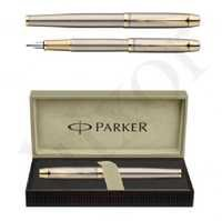 Parker IM Brushed Metal GT Fountain Pen
