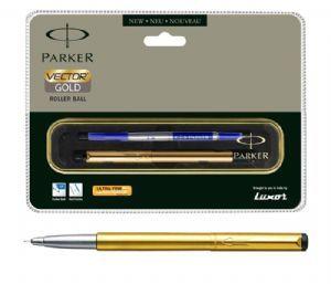 Parker Vector Gold Roller Ball Pen