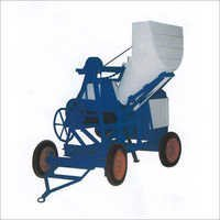 Mixture Machine With Hydraulic Hopper