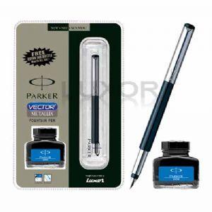 Parker Vector Metallix Fountain Pen