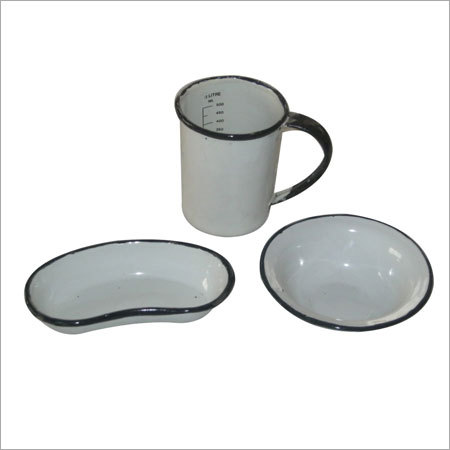Vitreous Enameled Hospital-ware