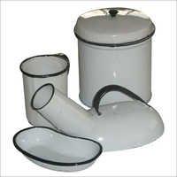 Enameled Hospital ware