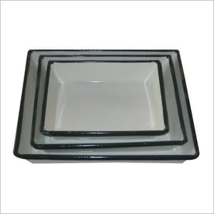 Vitreous Enameled Surgical Tray