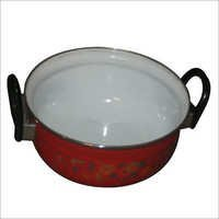 Vitreous Enameled Serving Donga