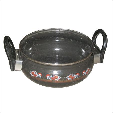 Vitreous Enameled Serving Bowl