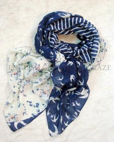 Polyester Printed Scarves Manufacurer