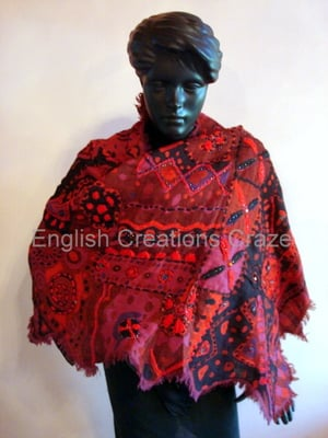 Wool Beaded Scarves Supplier
